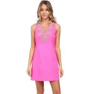 ⭐️Lilly Pulitzer embroidered dress